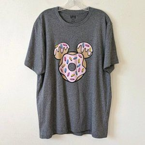 Uniqlo Kevin Lyons Disney Mickey Donut Graphic Top